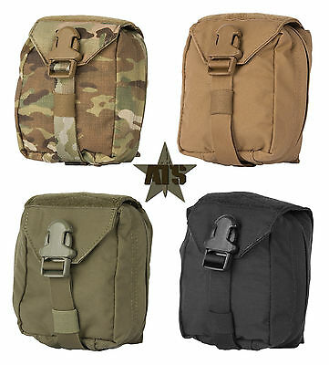 ATS Tactical Small Medical Pouch-Tear Away IFAK-Multicam-Kryptek-Coyote-RG-BLK