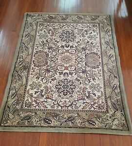 Olive, multi-coloured rug - 120cm x 167cm - excellent condition St Ives Ku-ring-gai Area Preview