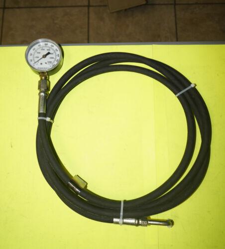 Miller 9873 CVT Transmission Pressure Gauge 0-2000 PSI