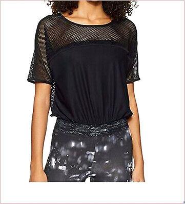 Puma ropa deportiva mujer explosive mesh tops camiseta negra talla XL/46 running