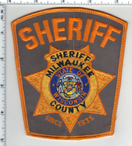 Milwaukee County Sheriff (Wisconsin) 3rd Issue Uniform Take-Off Shoulder Patch