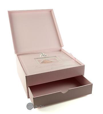 Baby Girl Pink Keepsake Box And Photo Album Gift Exclusive Design CG283G