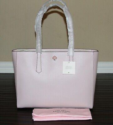 💚 KATE SPADE Molly Large Work Tote Shoulder Laptop Bag Purse Tutu Pink NWT