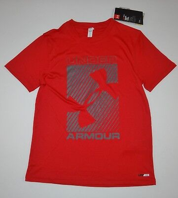 Under Armour Boys Rash Guard Surf Tee UPF 50+ Medium