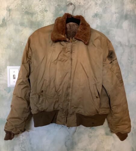 Authentic WW2/WWII USAAF B-15 Bomber Jacket As Is