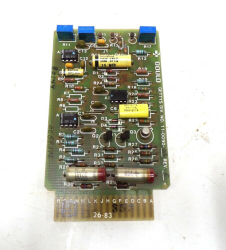 GOULD GETTYS PC MODULE BOARD 11-0090-03, 11-0090-101, SERVO CONTROLLER