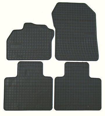 Alfombrillas de Goma Renault Zoe 4 Piezas Von TN Año Fabricación 2012