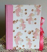 Album Fotografico Foto Artigianale Bimba Bambina Compleanno Vacanze Ricordi -  - ebay.it