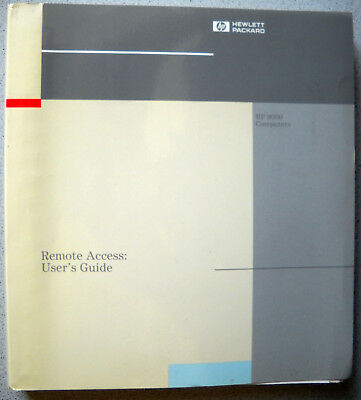 HP-UX  Remote Access Users Guide B1862-90011 1. Edition 01/1991