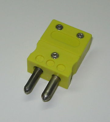 Standard K-type Connector Plug Male For K-type Thermocouple Wire Sensor Probe