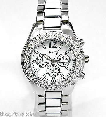 s sparkly collections watch womens large women caravelle watches