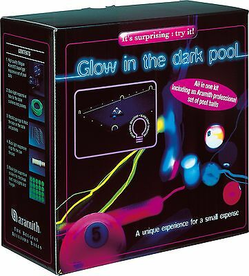 Pool Glow Balls (Aramith Glow-in-the-Dark Neon Pool Ball Set Billiards Balls FREE)