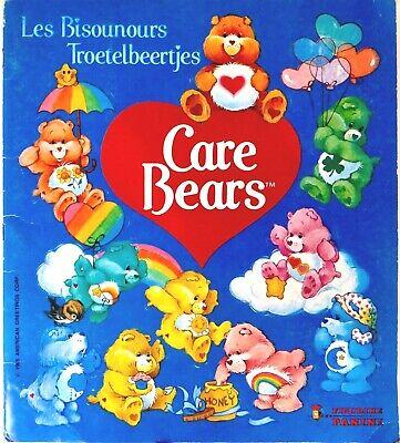 VINTAGE KENNER CARE BEARS ** PANINI ALBUM CARE BEARS ** 100% COMPLETE