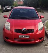 2007 Toyota Yaris YR Manual - Rego to July 2019 Coogee Eastern Suburbs Preview