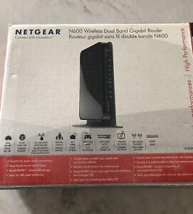 Netgear wireless router, gigabit dual band