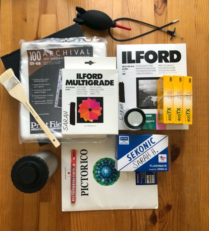 Film Darkroom Developing Equipment Bundle -- Perfect for photography students!