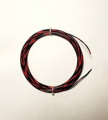 20 Awg 600v Mil-spec Wire Ptfe Blkred Stranded Silver Plated 25 Ft