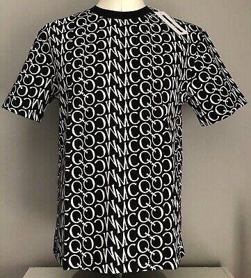 UK SELLER McQ Alexander McQueen Mens REPEAT LOGO Print T-Shirt Size Medium