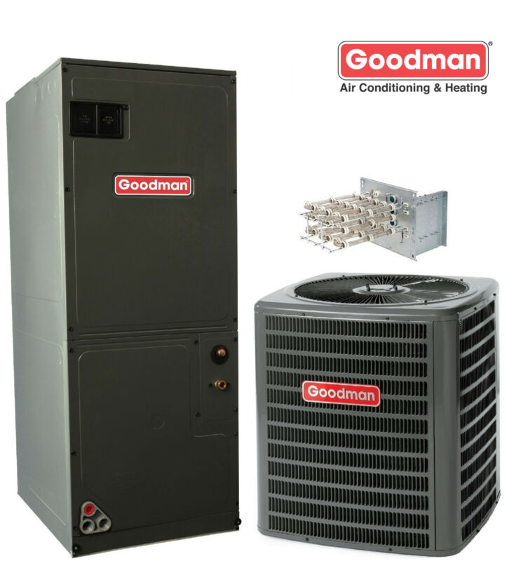 3 Ton Goodman 16 Seer Central System Gsx160361, Avptc37d14 Variable Speed, Txv