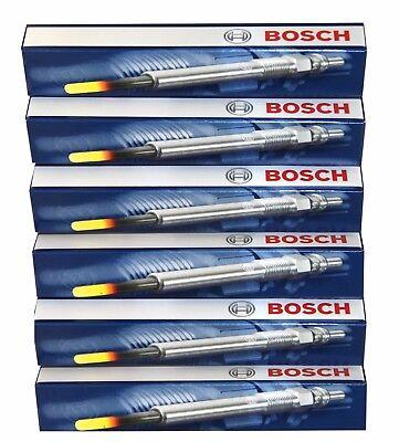 BMW Bosch Glow Plugs GLP 070 GLP070 0250402002 x6