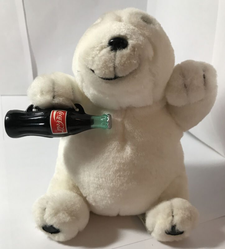 COCA COLA POLAR BEAR STUFFED ANIMAL