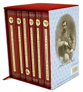 Sherlock Holmes 6 Books Box Set Collectors Library Sir Arthur Conan Doyle New