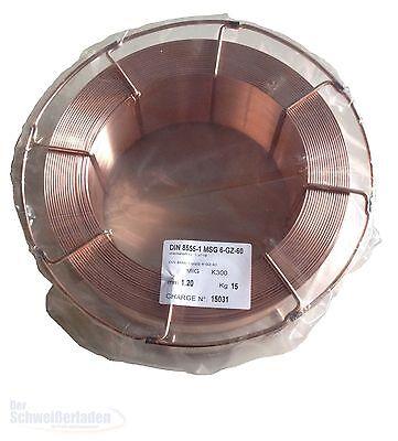 Schweißdraht Hartauftrag A 600 1.4718 1,2mm 15kg (13.86€/kg) Aufpanzern
