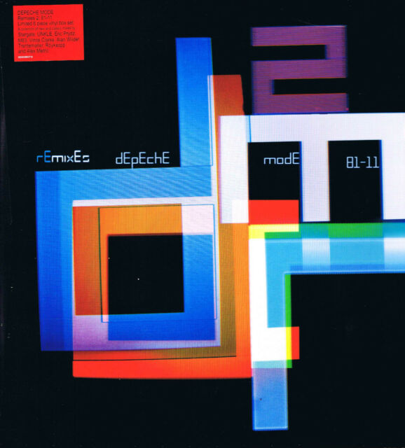 DEPECHE MODE Remixes 2. 81-11 Numbered Limited Edition 6 LP BOX SET @New Sealed@