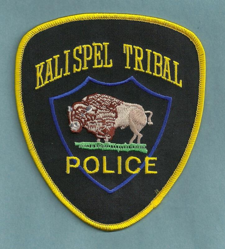 KALISPEL TRIBES WASHINGTON TRIBAL POLICE SHOULDER PATCH