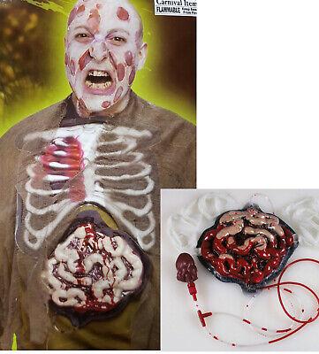 Zombie Gedärme Gürtel Halloween Zombie Kostüm Accessoire Eingeweide Horror NEU