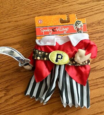 Pirate Pet Costume (🏴☠️ Pirate 🏴☠️ Pet Costume. NWT. Size XS for Dog or)