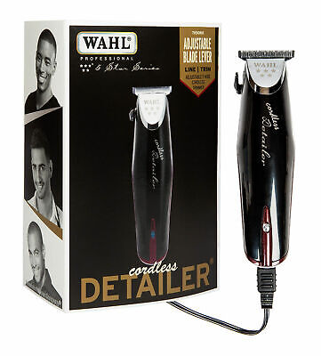 Wahl Professional 5 Star Cordless BLACK Detailer #8163 Hair Removal trimmer 8558 for sale  Shipping to India
