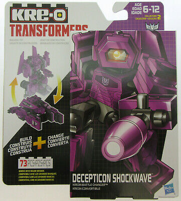 TRANSFORMERS ~ Shockwave ~ KRE-O ~ Kreon Battle Changers ~ Hasbro