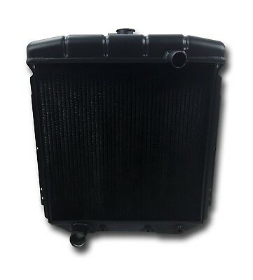 1954 1955 1956 Ford Black Aluminum Radiator Full Size Lifetime Warranty