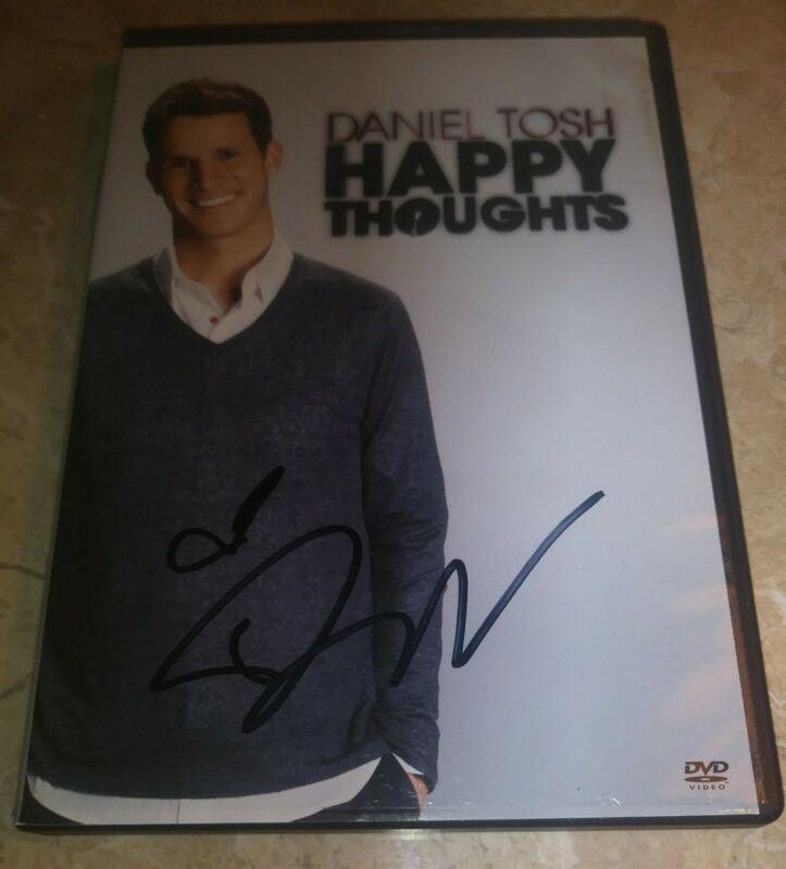 Daniel Tosh Autographed Signed DVD