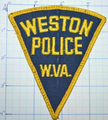 WEST VIRGINIA, WESTON POLICE DEPT VINTAGE PATCH