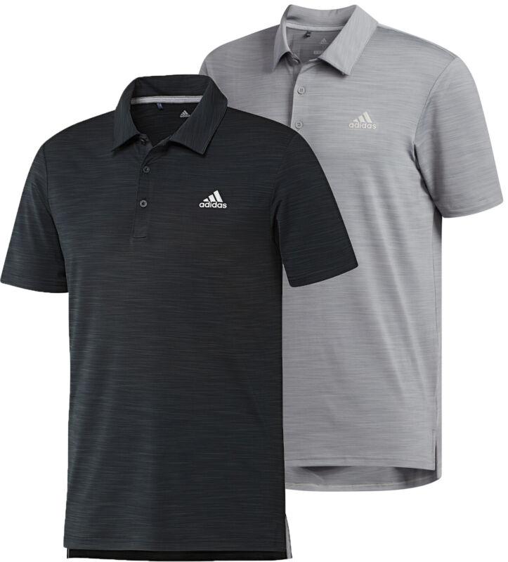 adidas Ultimate365 Heather Golf Polo Shirt Men