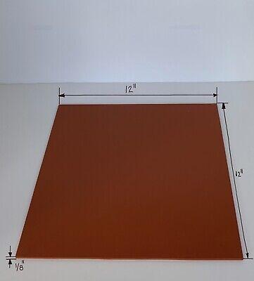 Silicone Rubber Sheet High Temp 18 - 12 X 12 Cg Durometer A-60.