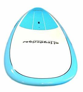 """Stand up paddle board10'x32"""" beginner sup teal &white Alleydesign Currumbin Waters Gold Coast South Preview"""