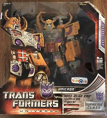 Transformers Universe Unicron Toys R Us Exclusive Complete Hasbro