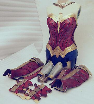 Diana cosplay wonder woman halloween cosplay superhero womens lot armor (Halloween Costumes For Woman)