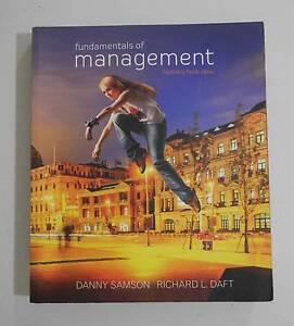 QUT textbook - Fundamentals of management Mount Gravatt Brisbane South East Preview
