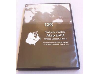 2003 - 2007 CADILLAC CTS NAVIGATION DVD 8.00 UPDATE US CANADA OEM 09320NA