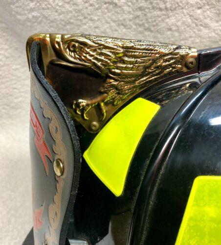Brass eagle finial for 880 Cairns fire helmet
