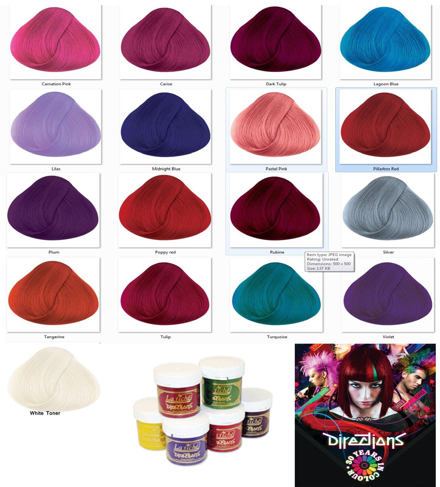 La Riche Haarfarbe Tönung Haarfarbe Farbstoff Tuben alle Farben erhältlich