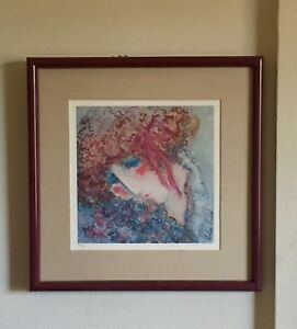 Barbara A. Wood Signed Lithograph Limited Edition Print