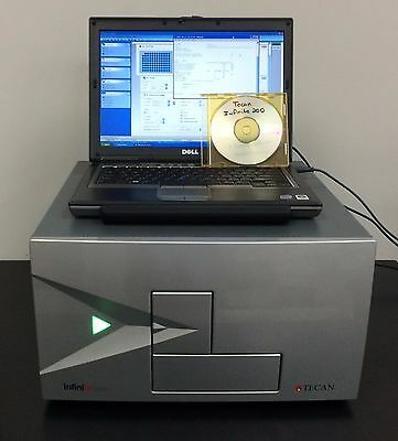Warranty Tecan Infinite F200 Fluorescent Microplate Reader Software Laptop
