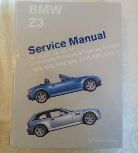 Z3 BMW SHOP MANUAL SERVICE REPAIR BENTLEY BOOK M ROADSTER COUPE