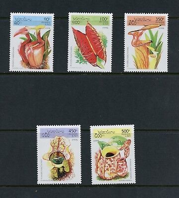 P314 Laos  1995  flora Insect Eating Plants  5v.  MNH for sale  Shipping to Canada