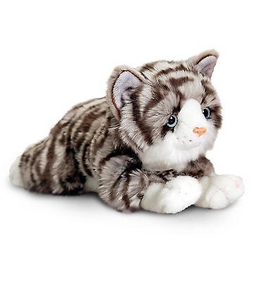 Plüschtier grau getigert Katze Jade Kuscheltier Keel Toys, Stofftier ca.30 cm